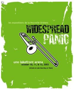 Widespread Panic - 10/12/2003 - New Orleans, LA