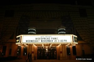 Widespread Panic - 11/25/2009 - Indianapolis, IN