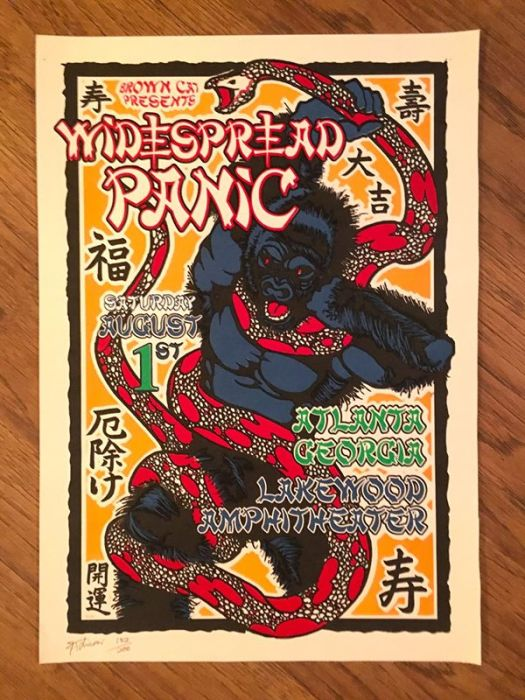 Widespread Panic - 08/01/1998 - Atlanta, GA | PanicStream