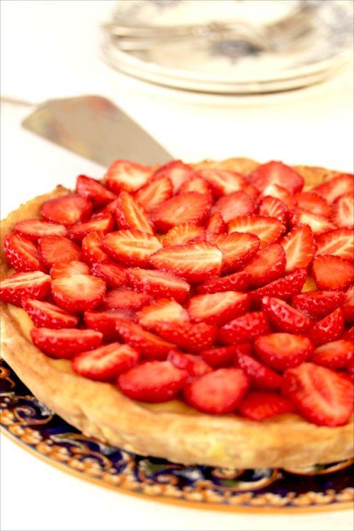 Tarte aux fraises pour Yves