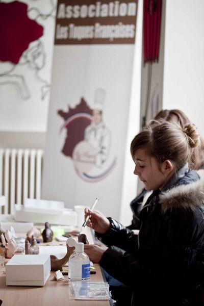 Toques françaises atelier chocolat  3