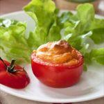 Cuisiner la mayonnaise Amora à chaud: tomates soufflées à la tomate