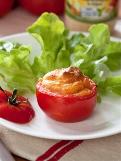 Cuisiner la mayonnaise amora chaud tomates souffl es - Comment cuire la polenta ...