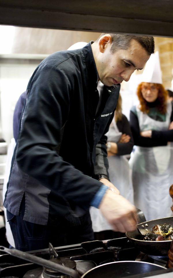 Sarlat_ du foie gras et des truffes, what else_ Longe de veau truffée comme un maki 20