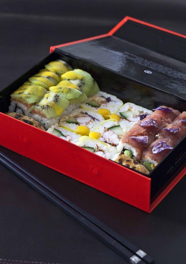 Sushi box Joël Robuchon 2