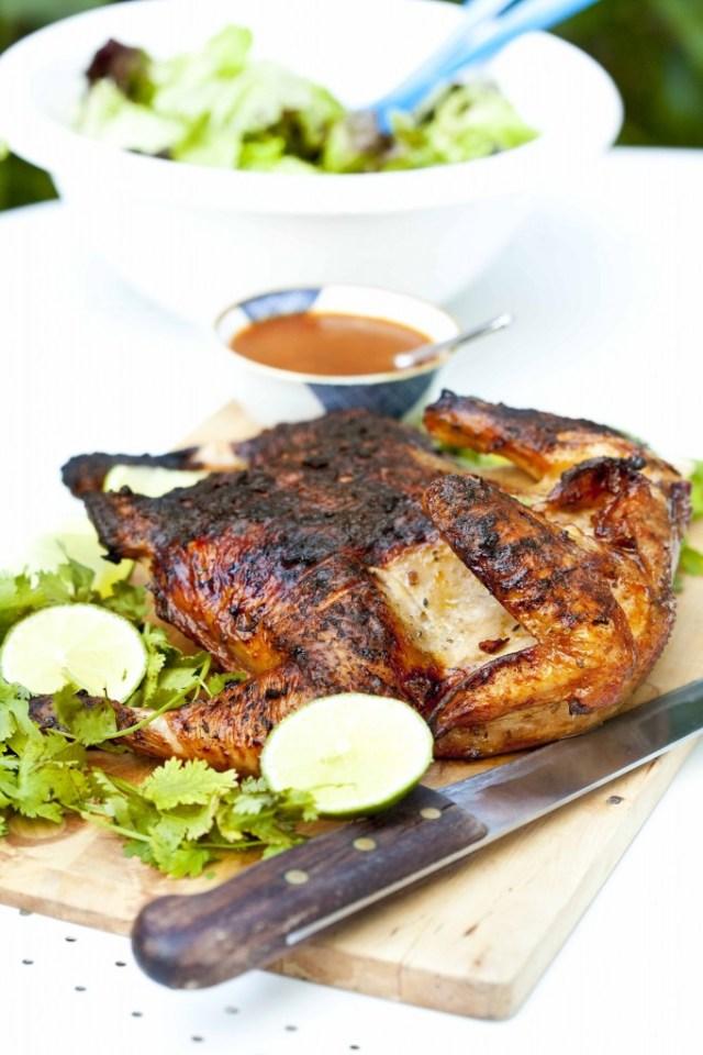 Poulet %C3%A0 la texane au bbq cuit entier1 682x1024 Poulet à la texane, recette de barbecue  non classe