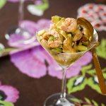 Le «Je dis» des Livres fait un Retour vers la Cuisine et préparer une Salade Pamplemousse crevettes