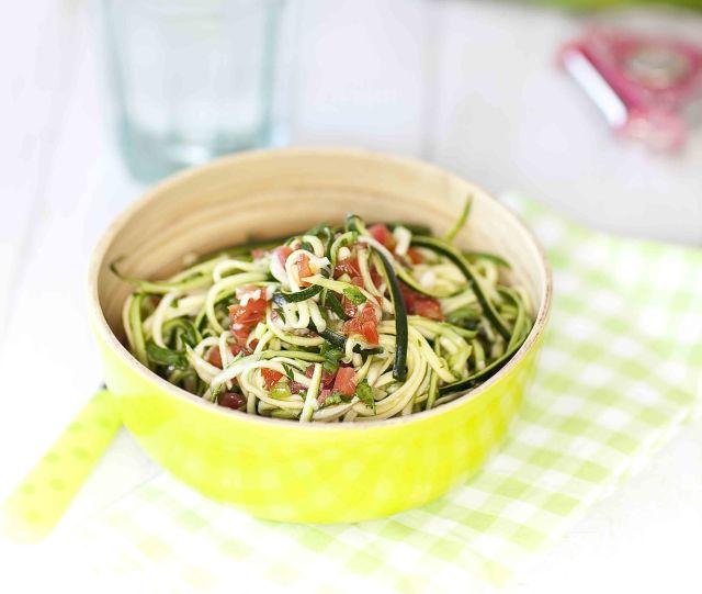 Spaghetti de courgettes à la sauce chien 2c