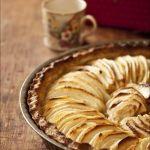 Tarte pomme poires pour tea time avec Envouthé