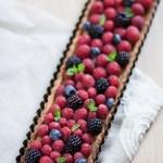 Tarte hyper facile aux fruits rouges, car le lundi, tout est permis!