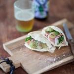 Pita au Jambon de Parme et Bière Hara Kiri