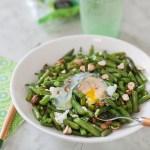 Sauté de haricots verts aux noisettes
