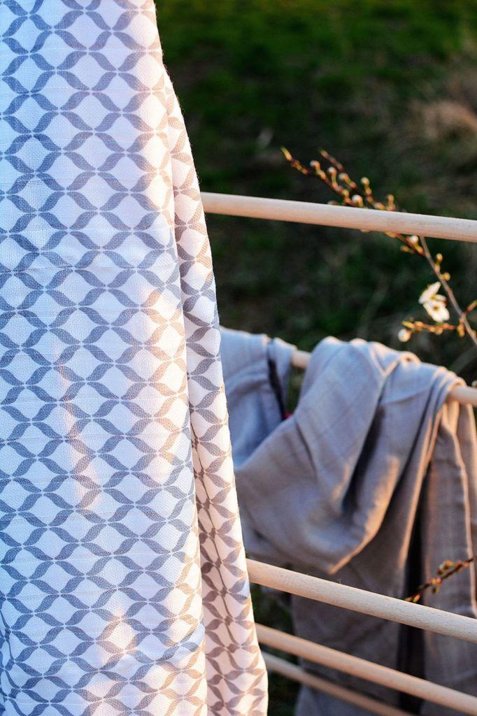 Otulacze muślinowe bambusowe Premium 120x100cm MotherHood