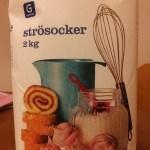 Idag kostade 2 kg Garant sockret endast 5 kr