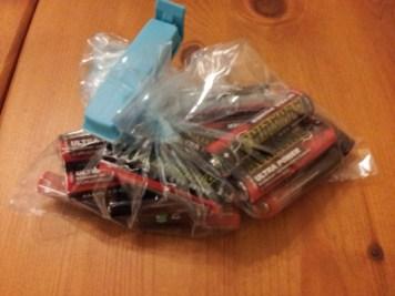 batterier i vattentat pase