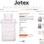 Billiga och söta sängkläder på Jotex rea