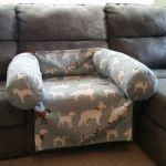 Hundbädd i soffan