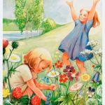 Nu finns Kerstin Frykstrands vackra månadsbilder som väggkalender, passa på!