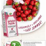 7 kr rabattkupong på Arla gräddmjölk