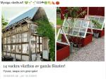 14 st hemmabyggda växthus