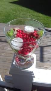 dekorera rönnbär