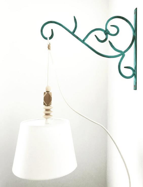 lampa design blomkonsol