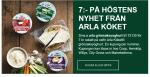 Rabattkupong hos Arla för grönsaksyoghurt