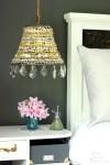 Dekorera lampa med knappar