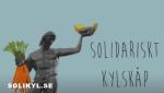 Solidariskt kylskåp i Göteborg