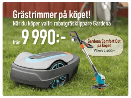 billig robotgräsklippare
