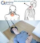 Avlasta och stretcha ut nacken