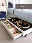 Smart lek- och förvaringslåda under säng för barn