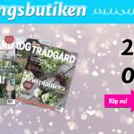 2 st gratisnummer av Allt om trädgård