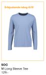 Passa på att köpa sköna långärmade T-shirts i bomull!