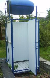 Utomhus dusch projekt