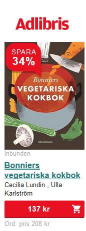 Bonnier vegetariksa kokbok
