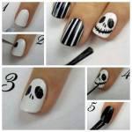 Halloween nagellack