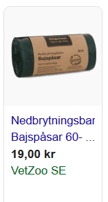 kompostbara påsar
