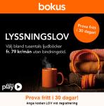 Prova ljudböcker i en månad från Bokus