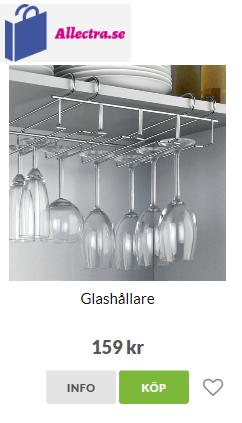 vinglashållare