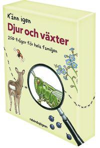 Känn igen djur och växter : 250 frågor för hela familjen av Rabén & Sjögren