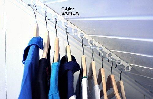 klädkammare förvaring av kläder