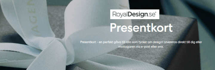royaldesign presentkort