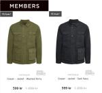 Tips på snygga Matinique jackor på Members lagerrensning