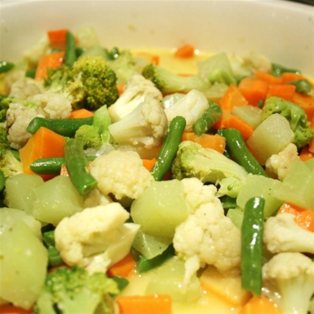 Buttered Vegetables Recipe Panlasang Pinoy Recipes