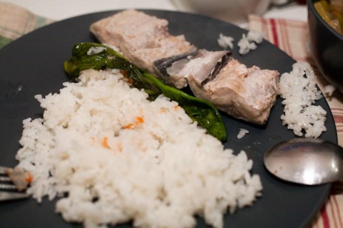 Bangus Belly Paksiw With Fried Rice Recipe Panlasang