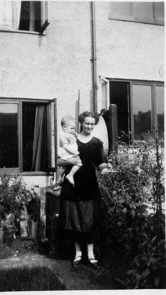 Nan with Peter
