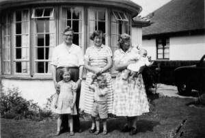 Family photo June 1955