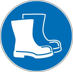 panneaux signalisation santé sécurité travail Chaussures de sécurité