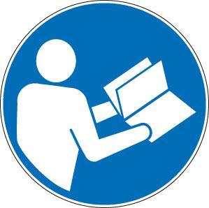 panneaux signalisation santé sécurité travail Consulter le manuel / la notice d'instructions